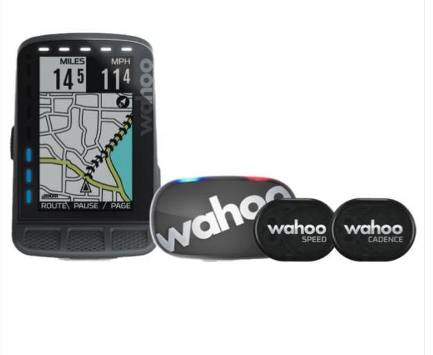 Wahoo Fitness Wahoo ELEMNT ROAM GPS Cycling Computer, BUNDLE
