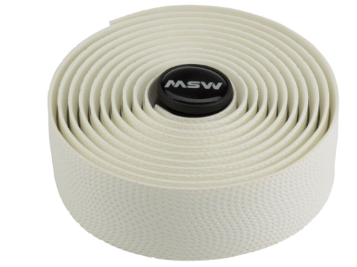 MSW MSW Anti-Slip Gel Handlebar Tape - HBT-210, White