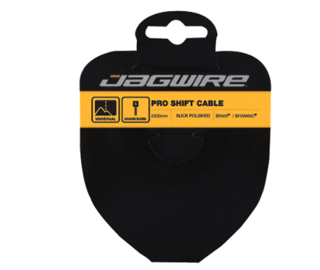 Jagwire Jagwire Pro Polished Slick Stainless Derailleur Cable 1.1x 2300mm SRAM/Shimano