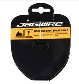 Jagwire Jagwire Sport Brake Cable Slick Stainless 1.5 x 3500mm SRAM/Shimano Mountain Tandem
