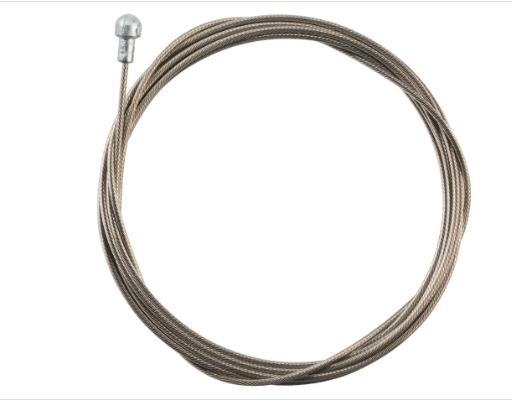 Jagwire Jagwire Pro Brake Cable 1.5 x 2000mm Pro Polished Slick Stainless SRAM/Shimano Road