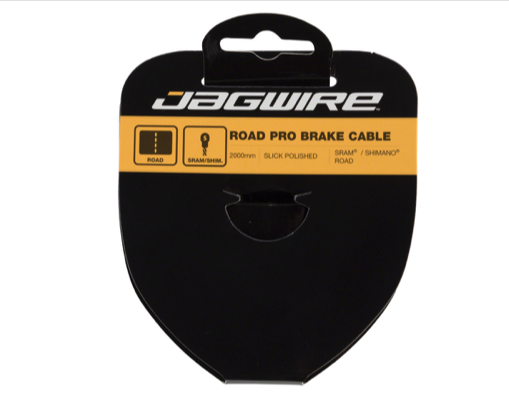 Jagwire Jagwire Pro Brake Cable 1.5x2000mm Pro Polished Slick Stainless SRAM/Shimano Road