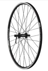 "Quality Wheels Quality Wheels Value Double Wall Series Front Wheel - 26"", QR x 100mm, Rim Brake, Black, Clincher"