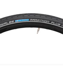 Schwalbe Schwalbe Marathon Plus Tire - 700 x 38, Clincher, Wire, Black/Reflective, Performance Line