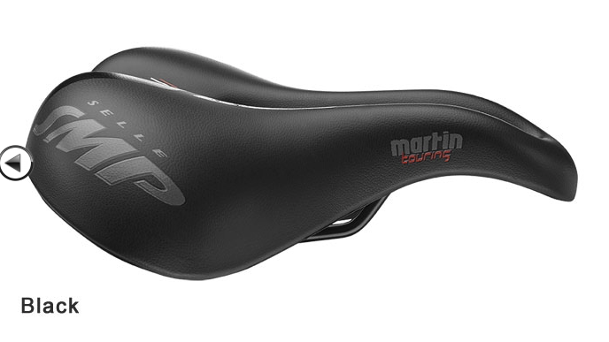 Selle SMP Martin Touring Large Gel, Black