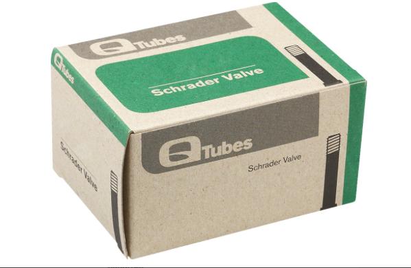 "Q-Tubes Teravail Q-Tubes 16"" x 1.75-2.125"" Schrader Valve Tube 102g *Low Lead Valve*"