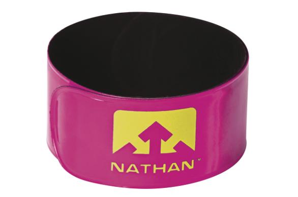 Nathan Nathan Reflex Reflective Snap Bands: Pair, Pink
