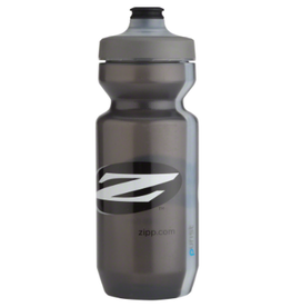 Zipp Speed Weaponry Zipp Water Bottle: Purist with Watergate by Specialized, Gray, 22oz