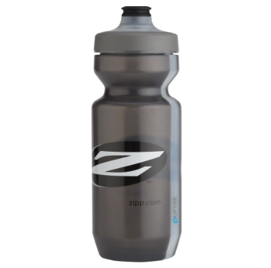 Zipp Speed Weaponry Zipp Water Bottle: Purist with Watergate by Specialized, Gray, 22oz