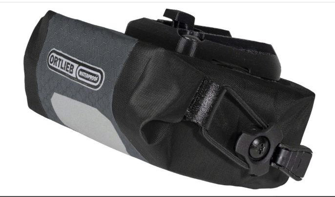 Ortlieb Ortlieb Micro Two Saddle Bag: Slate 0.5L