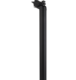Salsa Salsa Guide Deluxe Seatpost, 27.2 x 350mm, 18mm Offset, Black