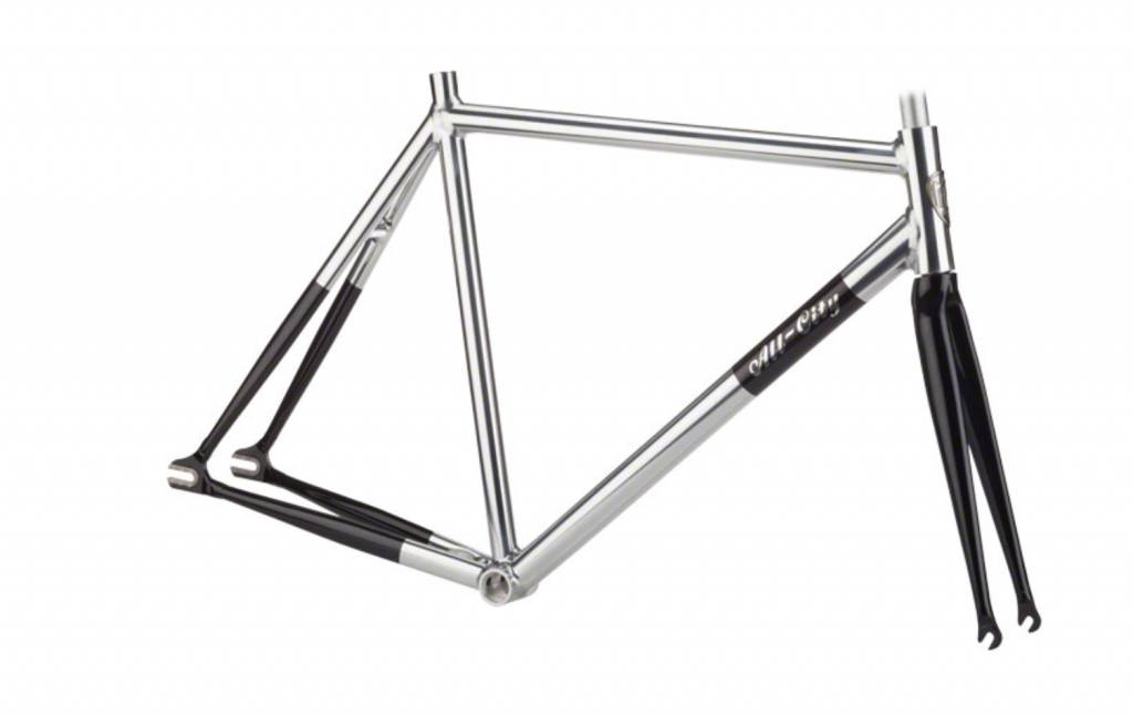 All-City All-City 52cm Thunderdome Polished Aluminum Frameset