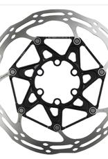 SRAM SRAM Centerline X Disc Brake Rotor - 180mm, 6-Bolt, Steel Bolts, Silver/Black
