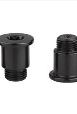 SRAM SRAM Force eTap AXS Crank Chainring Bolt Kit - For 2x, 107 BCD, Aluminum, Black, D1