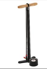 """Lezyne Lezyne Steel Floor Drive Floor Pump with 3.5"""" Gauge, ABS Pro Head, Black"""