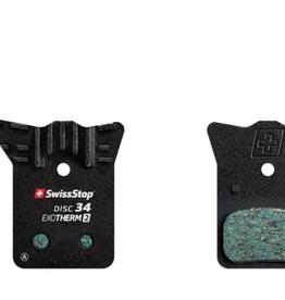 SwissStop SwissStop, EXOTherm 2, Disc Brake Pads, Shape: Shimano K-Type/L-Type, Organic, Pair