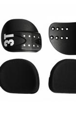 3T COMFORT CRADLES & PADS KIT - CARBON CRADLES