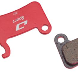 Jagwire Jagwire Sport Semi-Metallic Disc Brake Pads - For Shimano XTR M965/ M966/ M975, SLX M665, Saint M800, Deore XT M765/ M775/ M776