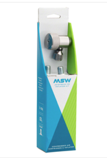 MSW MSW Jetstream 20 CO2 Kit. Includes Inflator head and 2 20 Gram CO2 cartridges