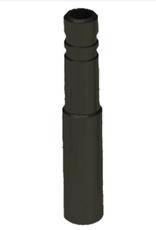 Problem Solvers Problem Solvers Presta Valve Extenders: Standard 33mm Black