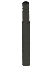 Problem Solvers Problem Solvers Presta Valve Extenders: Standard 50mm Black