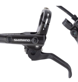 Shimano Shimano Deore BL-MT501/BR-MT500 Disc Brake and Lever - Front, Hydraulic, Post Mount, Resin Pads, Black