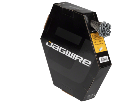 Jagwire Jagwire Sport Brake Cable 1.5x2000mm Slick Stainless SRAM/Shimano MTB, Box of 100