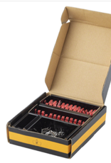 Jagwire Jagwire Sport Semi-Metallic Disc Brake Pads for SRAM Guide RSC, RS, R, Avid Trail: Box of 25 Pairs