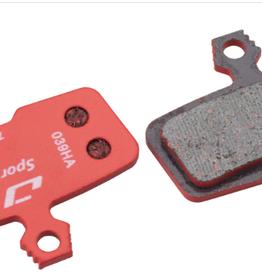 Jagwire Jagwire Sport Semi-Metallic Disc Brake Pads for SRAM Guide RSC, RS, R, Avid Trai - single