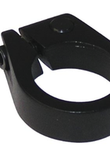 ULTRACYCLE KHS UC NO-PINCH SEAT CLAMP, 34.9MM ,BLACK 30G, ALLOY, MATTE BLACK