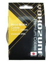 Yokozuna Yokozuna Premium Brake cable / Housing Kit, Road Brake - F/R Set Blk Shimano SRAM