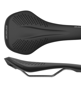 Spank Spank Oozy 220 Saddle, Black/Grey