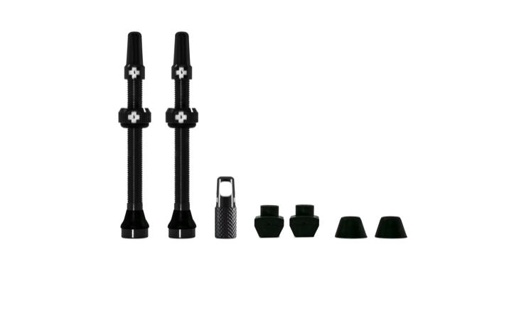 Muc-Off Muc-Off Presta Valve Stem, 60mm Universal, Pair - Black