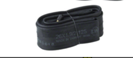 "Q-Tubes Q-Tubes / Teravail 26 X 1.9-2.125"" Schrader Valve Tubes - single"