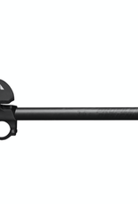 Profile Design Profile Design Supersonic Ergo 35c Shallow Ski-Bend Carbon Aerobar: Long 400mm Extension, Supersonic Bracket, Ergo Armrest, Black
