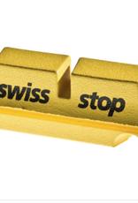 SwissStop SwissStop FlashPro Set of 4 SRAM/Shimano Rim Brake Inserts, Yellow King Compound
