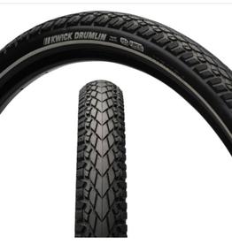 Kenda Kenda Kwick Drumlin Tire - 700 x 45, Clincher, Wire, Black/Reflective, 60tpi