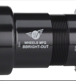 Wheels Manufacturing Wheels Manufacturing BBright Direct Fit to Shimano Bottom Bracket with ABEC-3 Bearings
