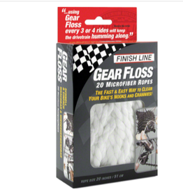 Finish Line Finish Line Gear Floss Microfiber Cleaning Rope