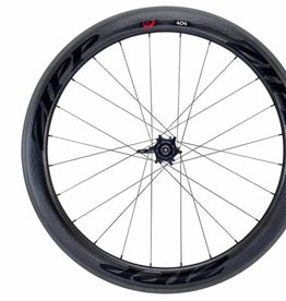 Zipp Speed Weaponry Zipp 404 Firecrest Carbon Clincher Rear Wheel, 700c, 24 Spokes, 10/11 Speed SRAM Cassette Body, 177, V3, Black Decal