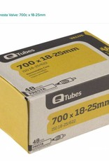Q-Tubes Q-Tubes Value Series Tube with 48mm Presta Valve: 700c x 18-25mm