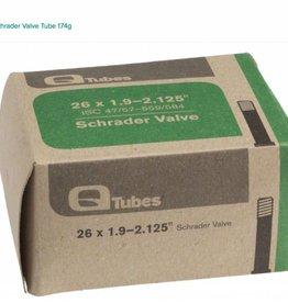 """Q-Tubes Q-Tubes 26"""" x 1.9-2.125"""" Schrader Valve Tube 174g"""