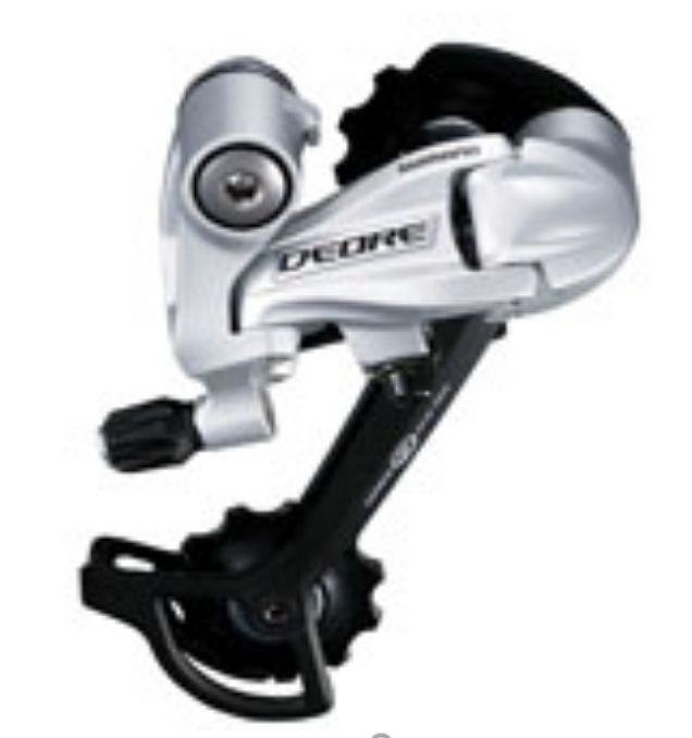 Shimano SHIMANO REAR DERAILLEUR, RD-M591-L, DEORE, SGS 9-SPEED TOP-NORMAL DIRECT ATTACHMENT, BLACK, IND.PACK
