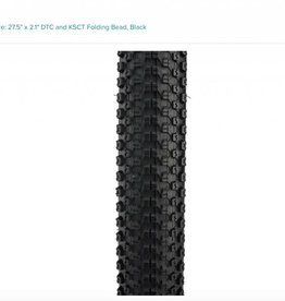 "Kenda Kenda Small Block 8 Pro Tire: 27.5"" x 2.1"" DTC and KSCT Folding Bead, Black"