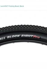 "Kenda Kenda Small Block 8 Pro Tire: 27.5"" x 2.1"" DTC and KSCT Folding Bead, Black"