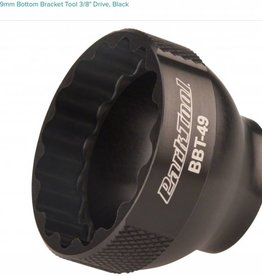 "Park Tool Park Tool BBT-49 16 Notch 39mm Bottom Bracket Tool 3/8"" Drive, Black"