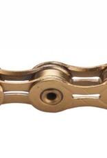 KMC KMC X11SL Chain: 11-Speed 116 Links Ti Nitride Gold