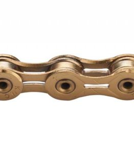 KMC KMC X11SL Chain: 11-Speed 116 Links Ti Nitride Gold