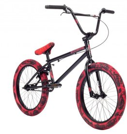 "Stolen Stolen 2019 Casino 20"" BMX Bike Black/Red Tie Dye"