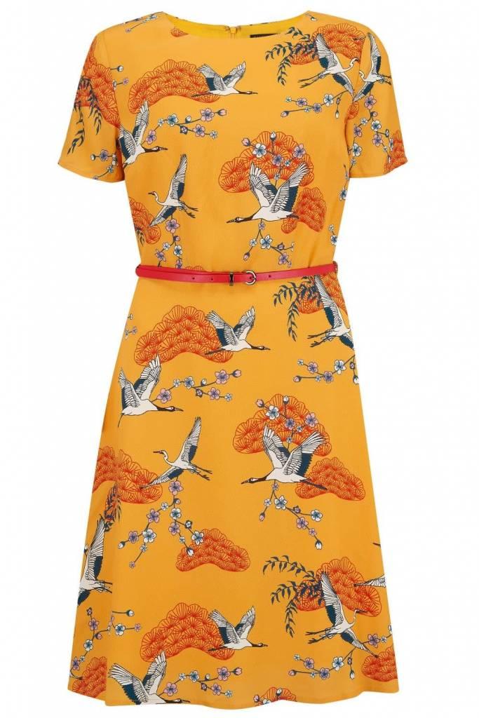 Sugarhill Brighton Ohara Birds Of Happiness Dress